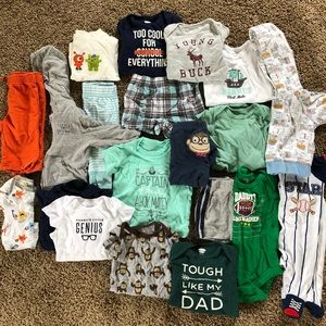 Other - 20 piece baby boys 0-3 months clothes lot